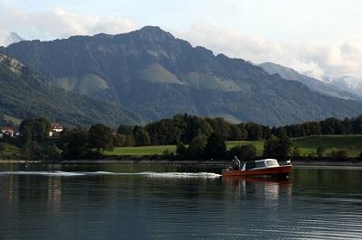 lake gruyere switzerland